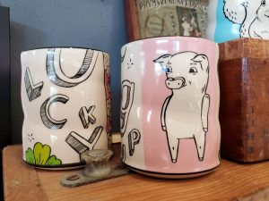 Lucky Pig Cup for accent to your decor